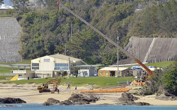 Thu hồi giấy phép xây căn cứ quân sự Mỹ ở Okinawa