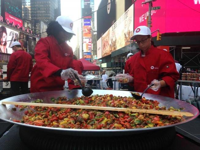 Lễ hội cà chua New York xuất hiện kỷ lục Guiness mới