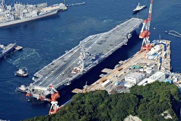 Nhật Bản sắp thành nơi đồn trú cho tàu sân bay Mỹ?