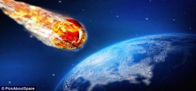 Thiên thạch sượt ngang Trái đất trong ngày Halloween