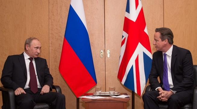 Putin thảo luận với thủ tướng Anh về thảm họa máy bay rơi