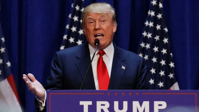 Donald Trump tuyên bố ủng hộ chiến dịch không kích của Nga