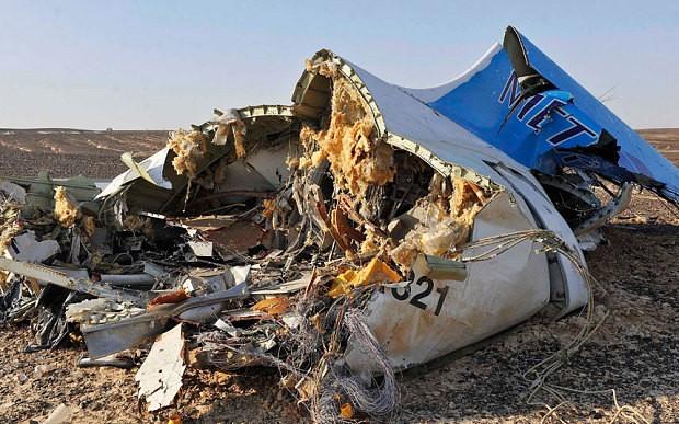 Nóng: Nga kết luận chính thức về vụ máy bay rơi ở Ai Cập