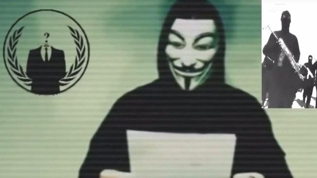 Anonymous tấn công dồn dập đánh sập 20.000 tài khoản IS