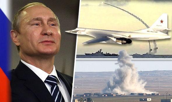 Nga dội tên lửa hành trình lên đầu IS, tiêu diệt hơn 600 tên