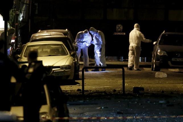 Bom phát nổ giữa thủ đô Athen của Hy Lạp