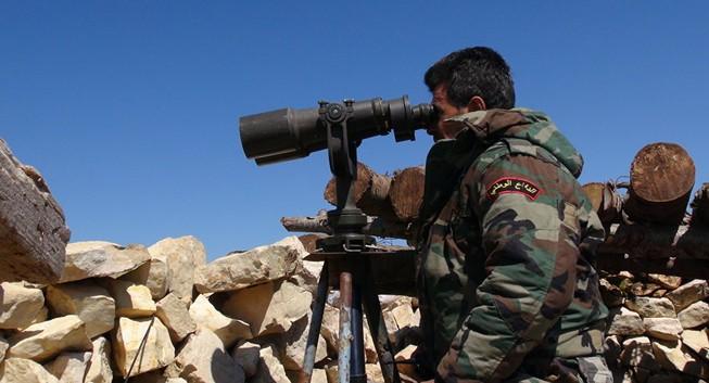 Syria phá hủy thành lũy phiến quân gần biên giới Thổ Nhĩ Kỳ