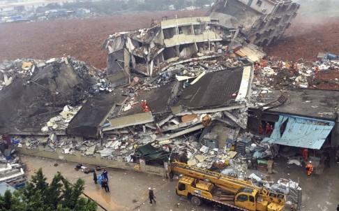 Lở đất kinh hoàng tại Thâm Quyến nuốt chửng 22 tòa nhà