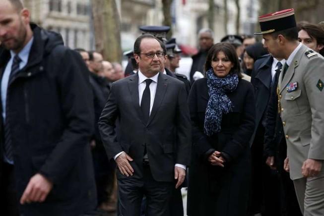 Pháp tưởng niệm một năm vụ khủng bố tòa soạn Charlie Hebdo