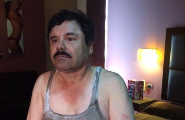 Trùm ma túy khét tiếng 'El Chapo' bị tóm sau sáu tháng vượt ngục