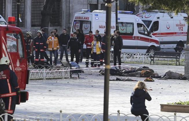 Nổ bom rung chuyển trung tâm du lịch Thổ Nhĩ Kỳ