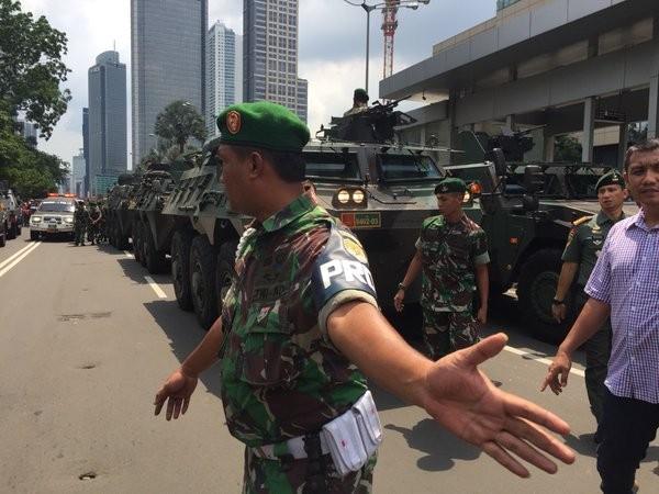 Cuộc tấn công khủng bố tại Indonesia đã kết thúc