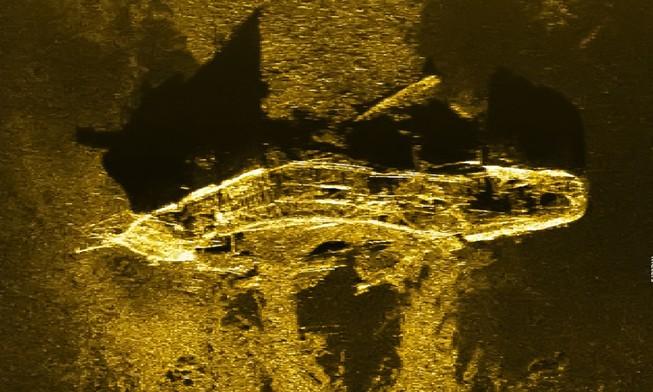 Tình cờ phát hiện xác tàu đắm 200 năm tuổi khi tìm kiếm MH370