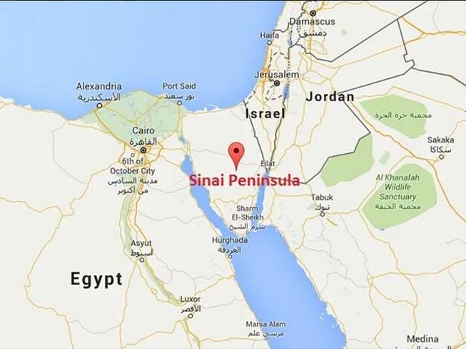 Máy bay quân sự Ai Cập rơi, toàn bộ phi hành đoàn thiệt mạng