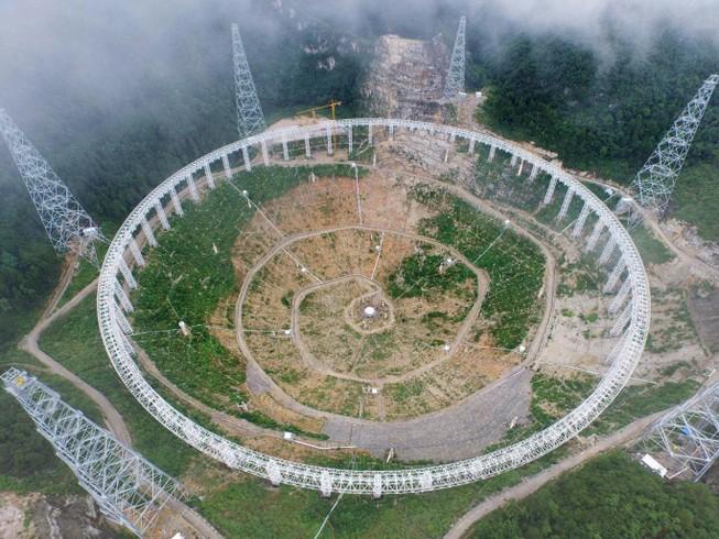 Trung Quốc di dời 9.000 dân để xây kính viễn vọng khổng lồ