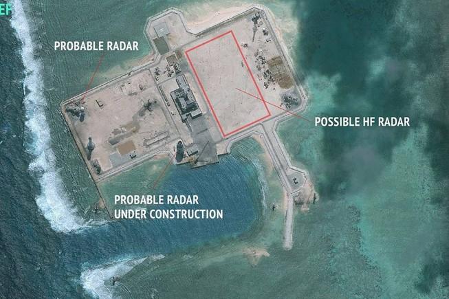 Nghi Trung Quốc đặt radar trái phép ở Trường Sa