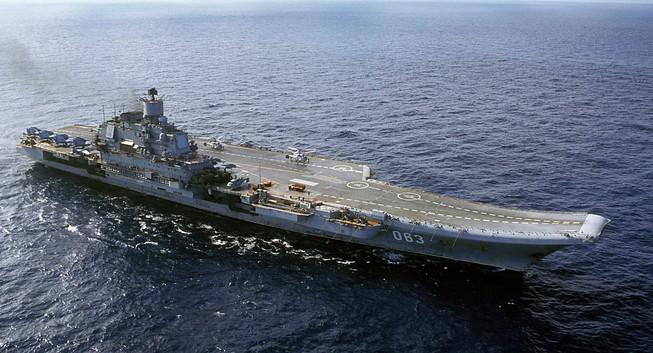 Nga sẽ đóng siêu mẫu hạm cho Ấn Độ?