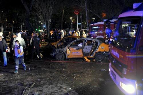 Thổ Nhĩ Kỳ xác định danh tính kẻ đánh bom chấn động thủ đô