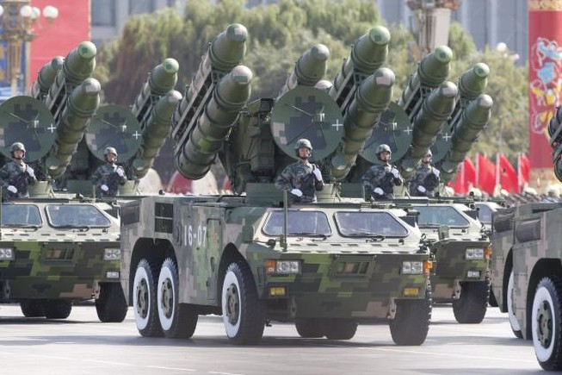 Trung Quốc đặt kho vũ khí hạt nhân trong 'tình trạng báo động'