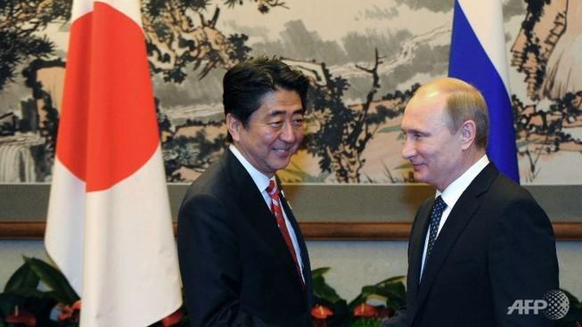 Thủ tướng Nhật sẽ đến Nga bàn về tranh chấp lãnh thổ