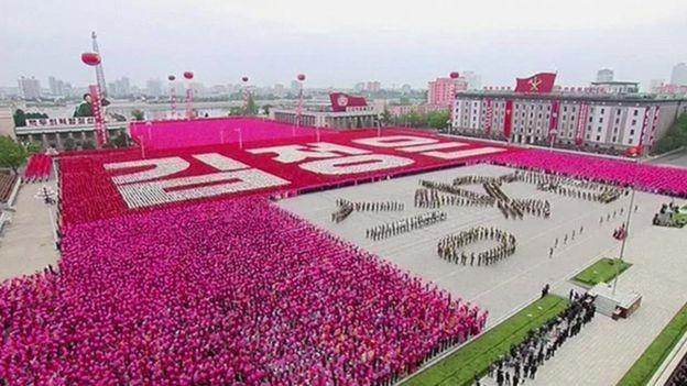 Triều Tiên diễu binh quy mô lớn mừng đại hội đảng kết thúc