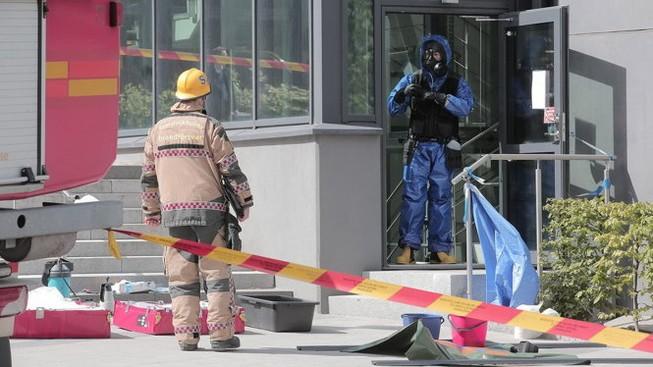Rò rỉ hóa chất tại Thụy Điển, hàng trăm người sơ tán