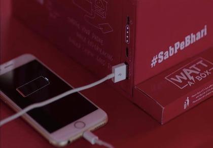 KFC ra mắt hộp thức ăn có thể sạc điện thoại