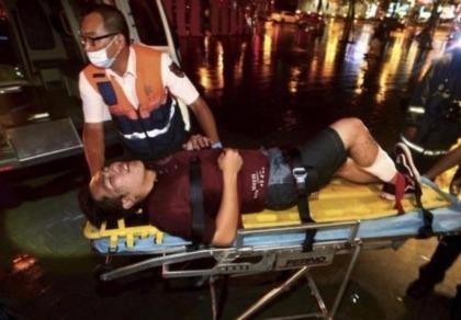 Người Việt bị trọng thương trong vụ nổ tàu điện Đài Loan