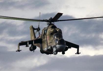 IS bắn rơi trực thăng Mi-25, 2 phi công Nga thiệt mạng