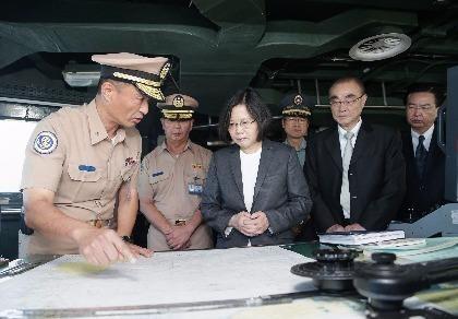 Đài Loan gửi tàu chiến ra Biển Đông sau phán quyết Tòa trọng tài