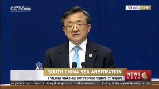 Trung Quốc công bố sách trắng về vụ kiện biển Đông