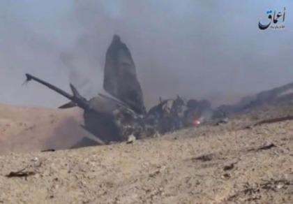 Khủng bố IS bắn rơi máy bay chiến đấu Syria