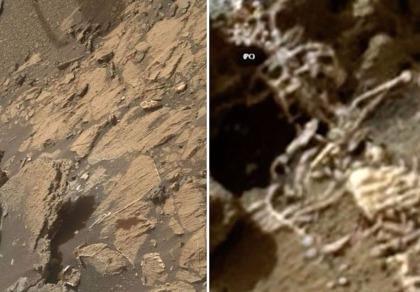 Phát hiện 'xương người sao Hỏa'