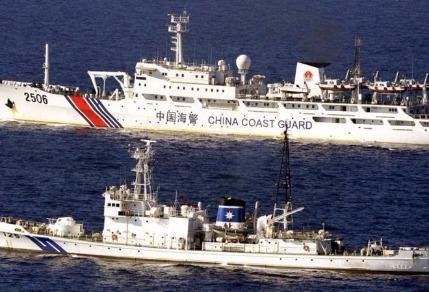 Trung Quốc chặn tàu cá Philipines vào bãi Scarborough