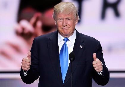 Donald Trump chính thức là ứng cử viên tổng thống của đảng Cộng hòa