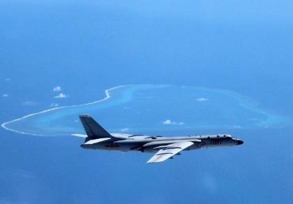 Trung Quốc ngang ngược cho máy bay ném bom, Su-30 tuần tra biển Đông