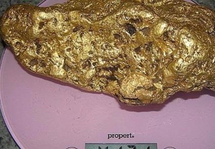 Đào được khối vàng nặng hơn 4kg ở Úc