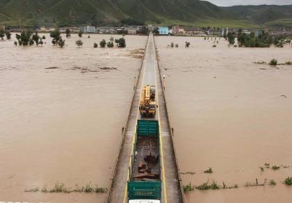 Mưa lũ kinh hoàng, Triều Tiên huy động toàn quân cứu nạn