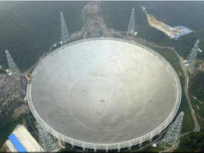 Trung Quốc mở kính viễn vọng tìm người ngoài hành tinh