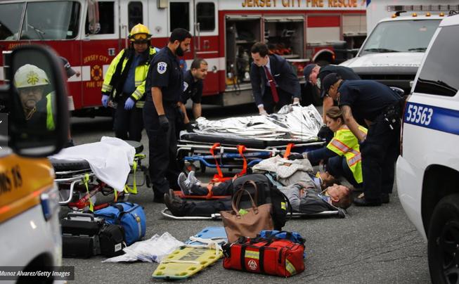 Tai nạn tàu lửa tại Mỹ: 3 người chết, hơn 100 bị thương
