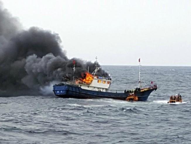 Hàn Quốc triệu đại sứ Trung Quốc vụ đâm tàu tuần duyên