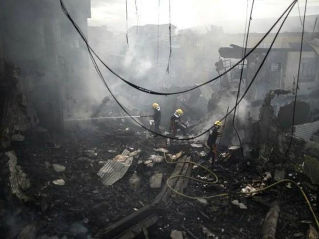 Nổ pháo hoa ở Philippines, hơn 20 người bị thương