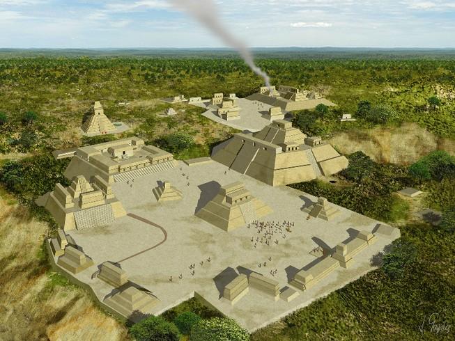 Cổ mộ ở kim tự tháp Maya hé lộ bí ẩn 'vua rắn'