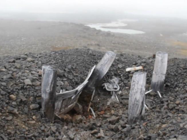 Phát hiện căn cứ bí mật của phát xít Đức ở Bắc cực