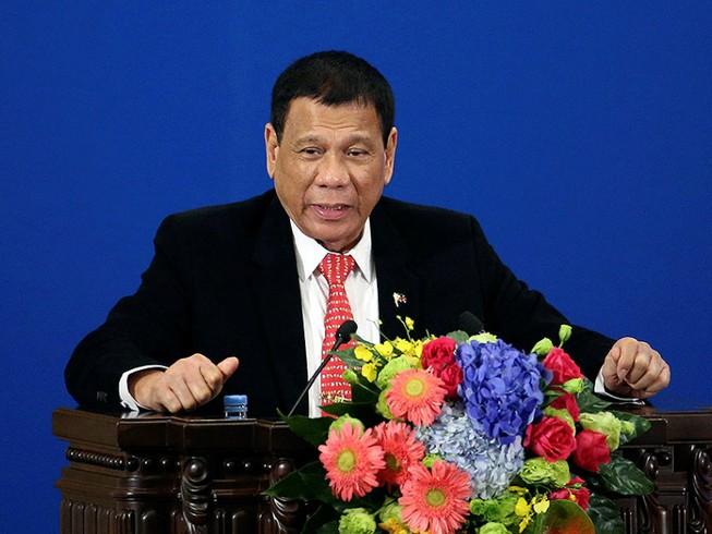 Ông Duterte nói sai trầm trọng tại Trung Quốc