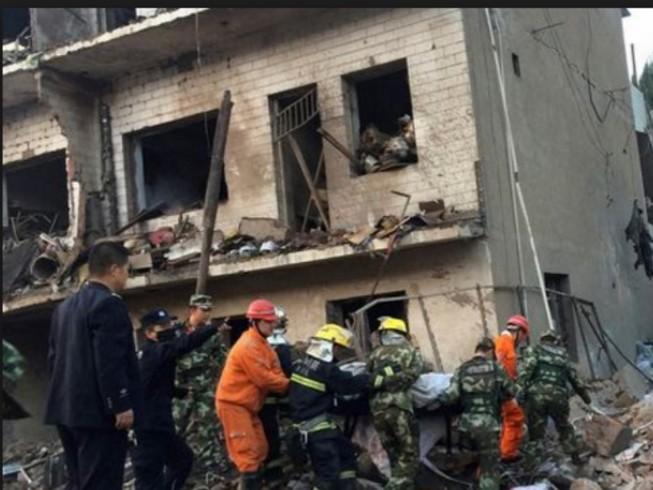 Nổ lớn Trung Quốc: 10 người chết, 156 người bị thương