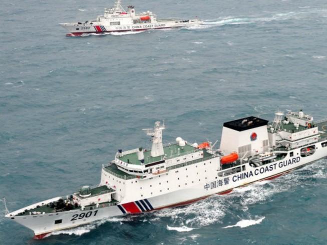 'Tất cả tàu Trung Quốc đã rời bãi cạn Scarborough'