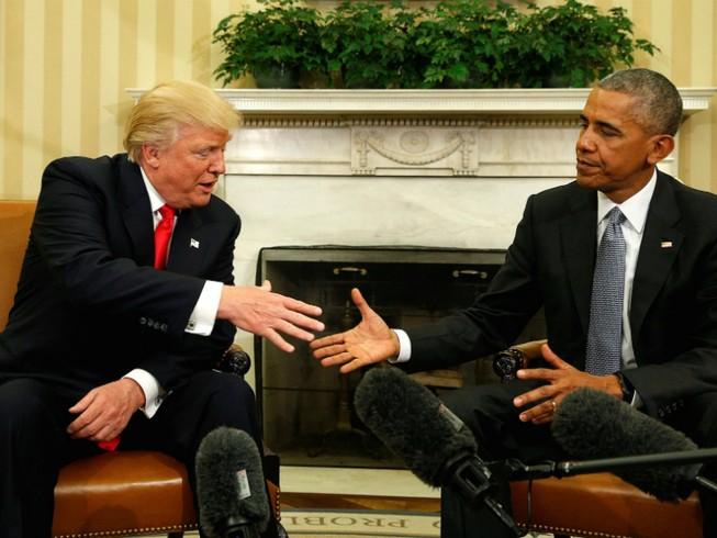 Ông Trump đổi tính, thừa nhận 'rất thích' Obama