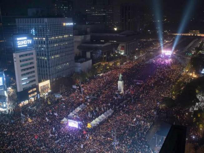 1 triệu người sẽ biểu tình chống tổng thống Hàn Quốc