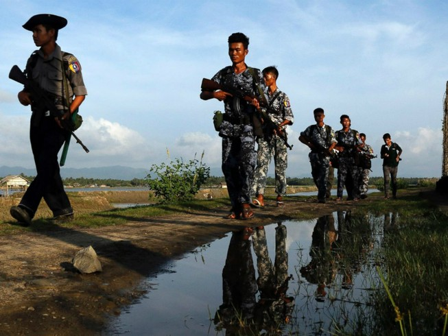 Giao tranh leo thang tại Myanmar, 8 người thiệt mạng